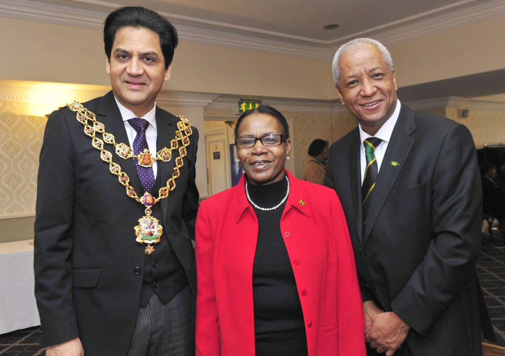 Erma with Lord Mayor and Honorary Consul
